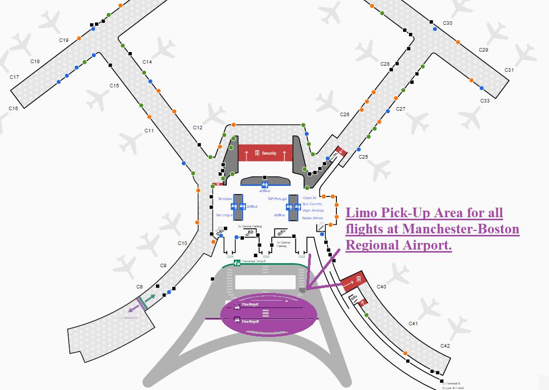 Airport Info - Camargo Chauffeur