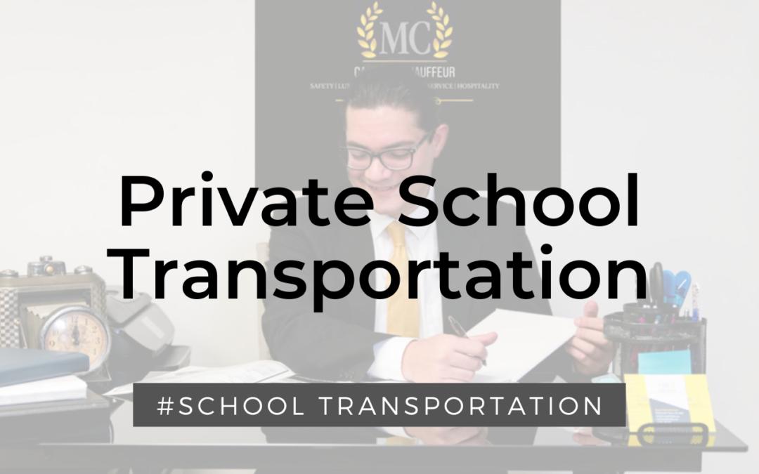 Private School Transportation