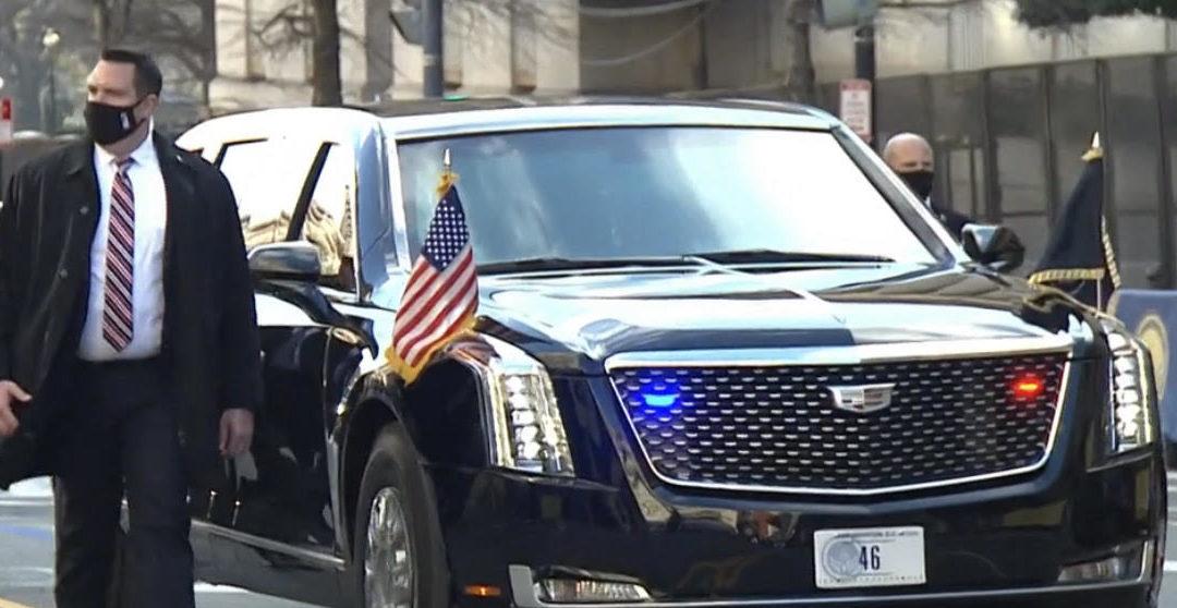 Traveling in Massachusetts in Presidential Style